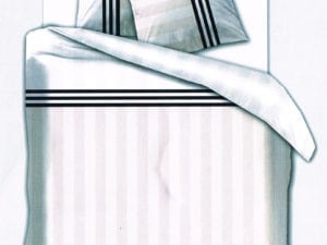 Stripes black – flanel