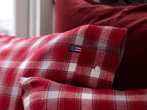 Checked Rood – Flanel