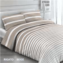 Rigato beige – flanel