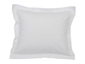 Hotel Pillowcase Percale White/White