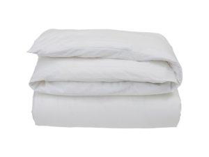 Hotel Flat Sheet Percale White/White
