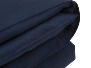 Hotel Flat Sheet Jacquard Blue