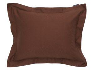 Hotel Pillowcase Jacquard Chestnut