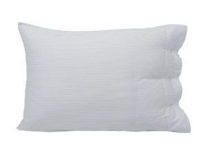 Hotel Pillowcase Tencell White/Blue