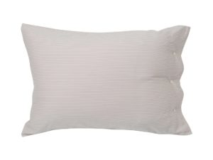 Hotel Pillowcase Tencell Beige/White
