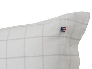 Hotel Pillowcase Flannel White/Beige