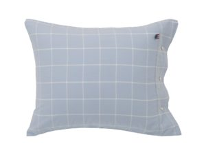 Hotel Pillowcase Flannel Blue/White
