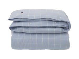 Hotel Flat Sheet Flannel Blue/White