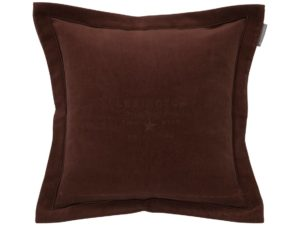Hotel Pillowcase Velvet Embroidery Chestnut
