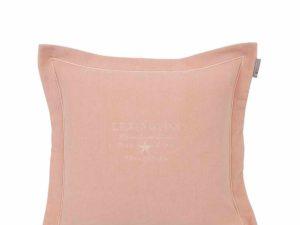 Hotel Pillowcase Velvet Embroidery Pink