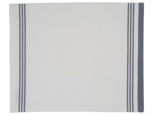 Hotel Tafellaken Striped White/Blue (2)