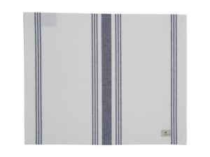 Hotel Placemat Striped White/Blue (6)