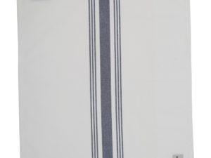 Hotel Napkin Striped White/Blue (12)