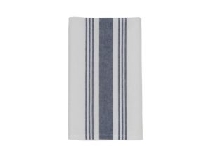 Hotel Napkin Striped White/Blue (12)