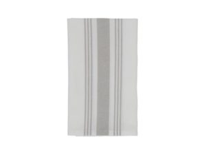 Hotel Napkin Striped White/Gray (12)