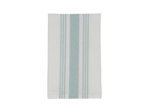 Hotel Napkin Striped White/Green (12)