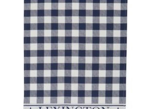 Hotel Kitchen Towel Gingham White/Blue (12)