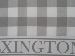 Hotel Kitchen Towel Gingham White/Gray (12)