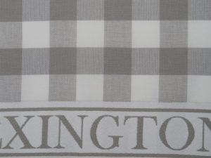 Hotel Kitchen Towel Gingham White/Gray (12)