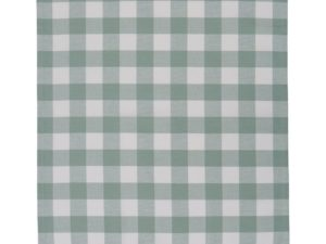 Hotel Kitchen Towel Gingham White/Green (12)