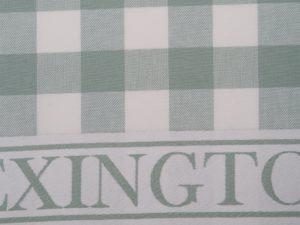 Hotel Kitchen Towel Gingham White/Green (12)