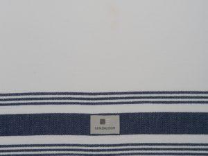 Hotel Kitchen Towel Framed White/Blue (12)