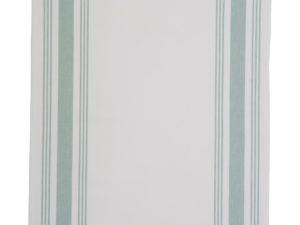 Hotel Kitchen Towel Framed White/Green (12)