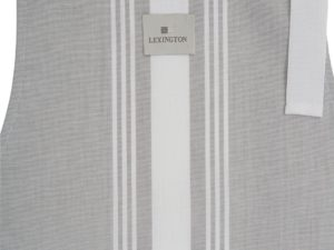 Hotel Apron Gray/White (3)