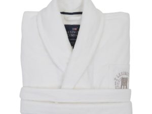 Hotel Robe Velour White