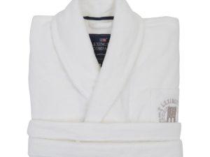 Hotel Robe Velour White