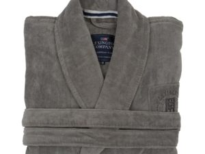 Hotel Robe Velour Gray