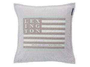 Icons Pillowcase Arts & Craft Gray/White (2)