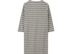 Icons Nightgown Woman Gray/White Stripe