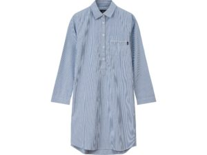 Icons Nightshirt Woman Blue Stripe